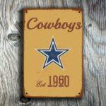 Dallas Cowboys Football Sign