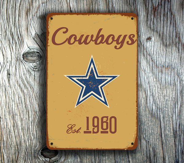 Dallas Cowboys Logo sign