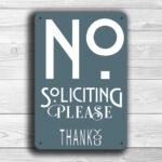 gray-no-soliciting-sign