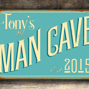 Custom Man Cave Sign