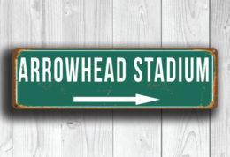 Arrowhead Stadium Sign