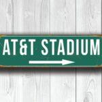 ATandT Stadium Sign