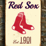 BOSTON-RED-SOX-Sign-Vintage-style-Boston-Red-Sox-Est.-1901-Composite-Aluminum-Boston-Redsox-Sign-in-team-colors-Baseball-Sign-Boston-Redsox-3