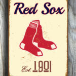 BOSTON-RED-SOX-Sign-Vintage-style-Boston-Red-Sox-Est.-1901-Composite-Aluminum-Boston-Redsox-Sign-in-team-colors-Baseball-Sign-Boston-Redsox-4