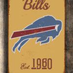 BUFFALO-BILLS-Sign-Vintage-style-Buffalo-Bills-Sign-Est.-1960-Composite-Aluminum-Vintage-Buffalo-Bills-Sign-FOOTBALL-Fan-Sign-Sports-Fan-1