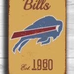 BUFFALO-BILLS-Sign-Vintage-style-Buffalo-Bills-Sign-Est.-1960-Composite-Aluminum-Vintage-Buffalo-Bills-Sign-FOOTBALL-Fan-Sign-Sports-Fan