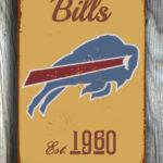 BUFFALO-BILLS-Sign-Vintage-style-Buffalo-Bills-Sign-Est.-1960-Composite-Aluminum-Vintage-Buffalo-Bills-Sign-FOOTBALL-Fan-Sign-Sports-Fan-3