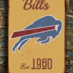 BUFFALO-BILLS-Sign-Vintage-style-Buffalo-Bills-Sign-Est.-1960-Composite-Aluminum-Vintage-Buffalo-Bills-Sign-FOOTBALL-Fan-Sign-Sports-Fan-4