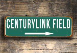 Century Link Field Sign