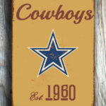 DALLAS-COWBOYS-Sign-Vintage-style-Dallas-Cowboys-Sign-Est.-1960-Composite-Aluminum-Vintage-Dallas-Cowboys-Sign-FOOTBALL-Fan-Sign-Cowboys-Fan-3