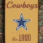 DALLAS-COWBOYS-Sign-Vintage-style-Dallas-Cowboys-Sign-Est.-1960-Composite-Aluminum-Vintage-Dallas-Cowboys-Sign-FOOTBALL-Fan-Sign-Cowboys-Fan-4