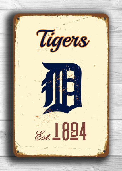 Detroit Tigers Room Decor