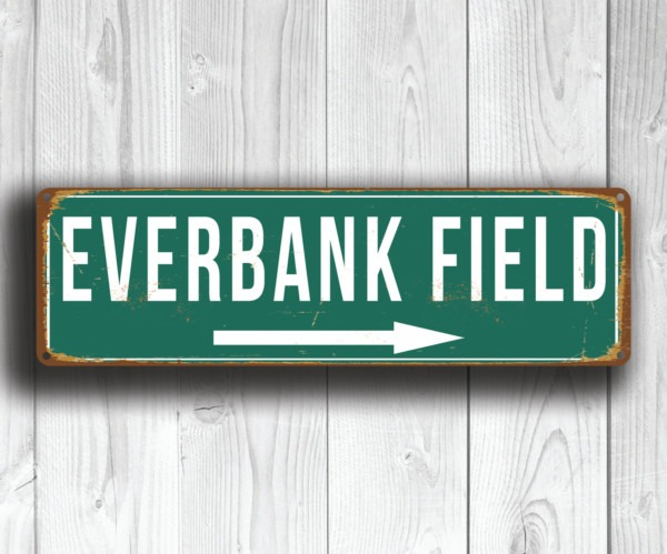Everbank Field Sign