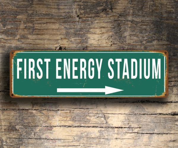 First Energy Stadium Sign
