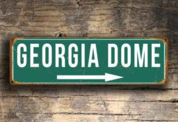 Georgia Dome Sign