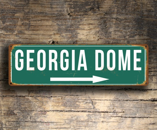 Georgia Dome Sign