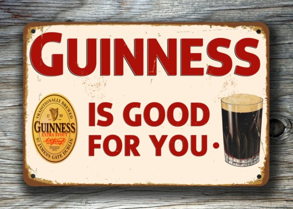 Guinness Sign Vintage Pub Signs Classic Metal Signs