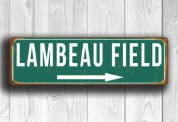 Lambeau Field Sign