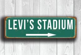 Levi's Stadium Sign