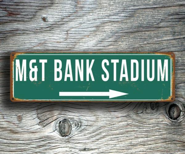 MandT Bank Stadium Sign