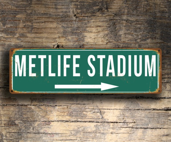 Metlife Stadium Sign