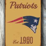 NEW-ENGLAND-PATRIOTS-Sign-New-England-Patriots-Est.-1960-Composite-Aluminum-New-England-Patriots-Sign-Football-Fan-Sign-Patriots-Sign