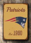 New England Patriots Logo Sign