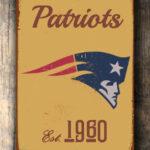 NEW-ENGLAND-PATRIOTS-Sign-New-England-Patriots-Est.-1960-Composite-Aluminum-New-England-Patriots-Sign-Football-Fan-Sign-Patriots-Sign-3