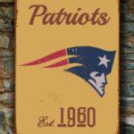 NEW-ENGLAND-PATRIOTS-Sign-New-England-Patriots-Est.-1960-Composite-Aluminum-New-England-Patriots-Sign-Football-Fan-Sign-Patriots-Sign-4