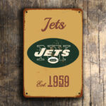 New York Jets Football Sign