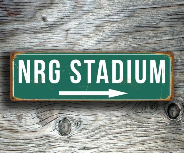 NRG Stadium Sign