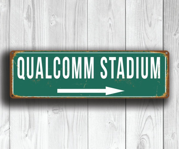 Qualcom Stadium Sign