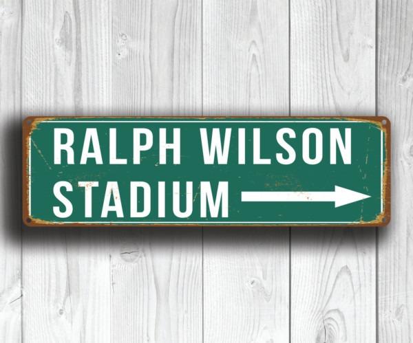 Ralph Wilson Stadium Sign