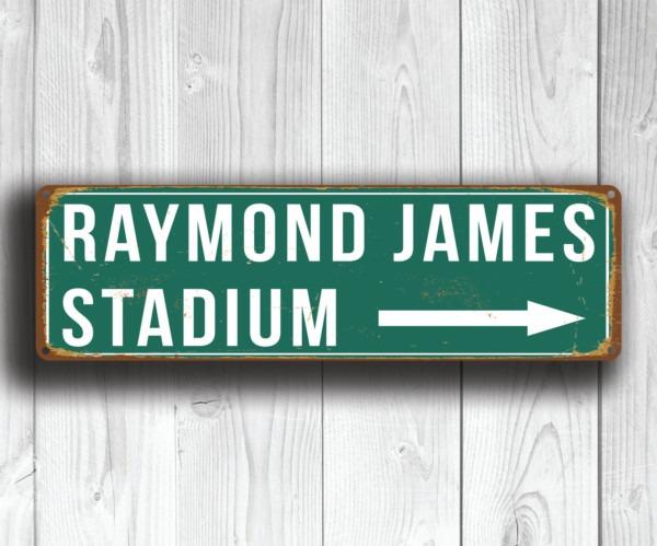 Raymond James Stadium Sign