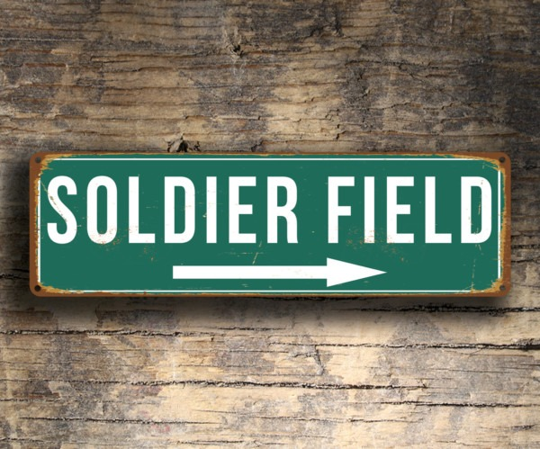 Soldier Field Sign