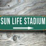 Sun Life Stadium Sign