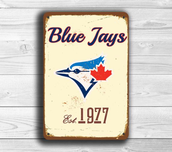 Toronto blue Jays Baseball sign