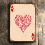 ACE of HEARTS Sign