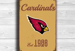 Arizona Cardinals Logo Sign