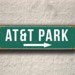 AT&T Park Sign