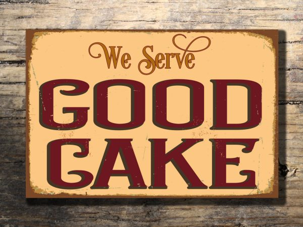 BAKERY CAKE SIGN