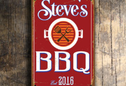 PERSONALIZED BBQ SIGN