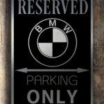 Bmw Garage Sign
