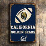 CALIFORNIA GOLDEN BEARS Sign