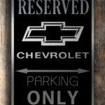 Chevrolet Garage Sign