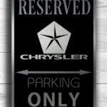 Chrysler Only Sign