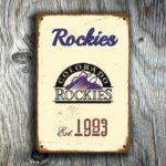 COLORADO ROCKIES SIGN
