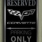 Corvette Garage Sign