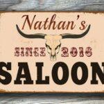 CUSTOM Saloon Signs