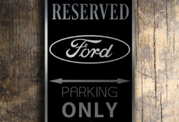 FORD RESERVED PARKING Sign